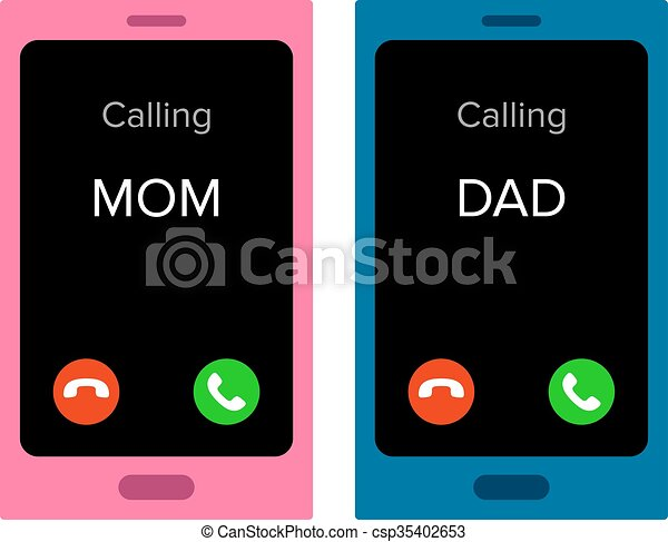 Smartphone Call Clipart