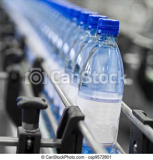 indústria, garrafa - csp9572801