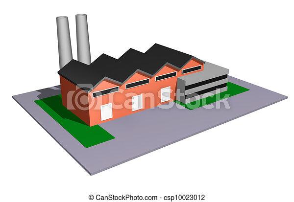 indústria, modelo - csp10023012