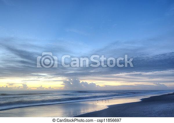 Indalantic Beach in Florida - csp11856697