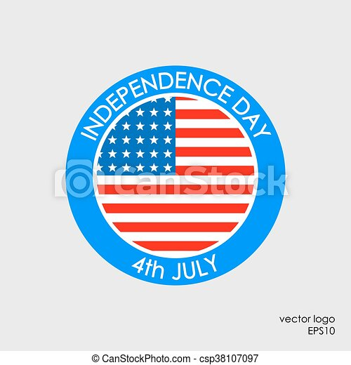 Independence Day 4th of July - csp38107097