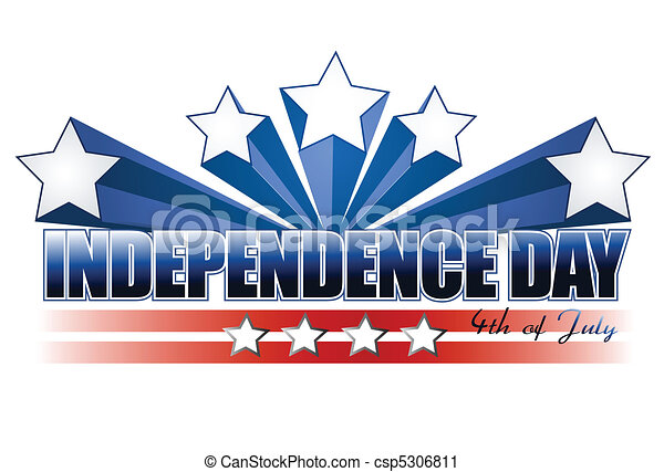 independence day sign isolated over white rh canstockphoto com independence day clipart flag independence day clipart