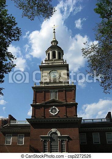 Independence Hall, Philadelphia, Pennsylvania - csp2272526