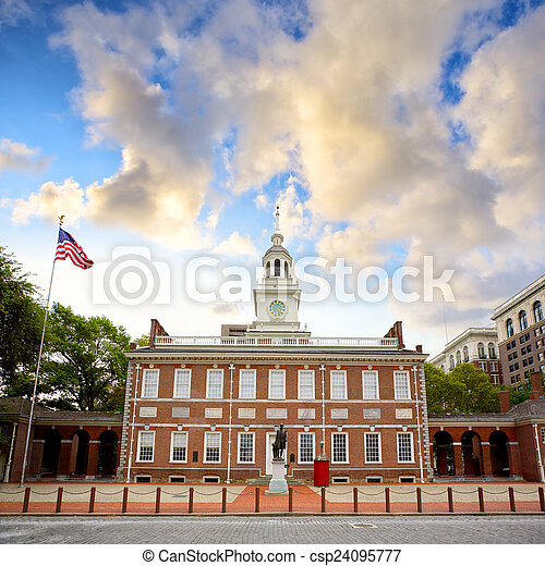 Independence Hall - csp24095777