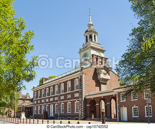 Independence Hall  - csp10742552