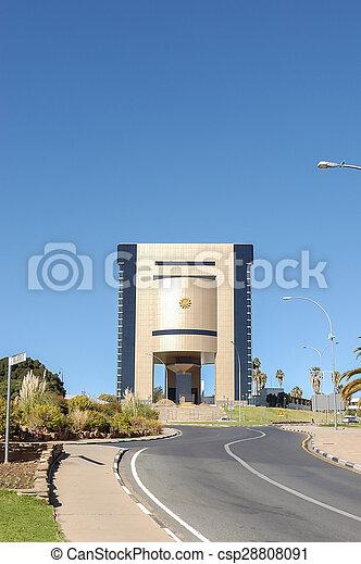 Independence Memorial in Windhoek - csp28808091
