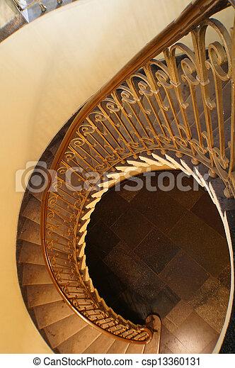 indgang, staricase, hal - csp13360131