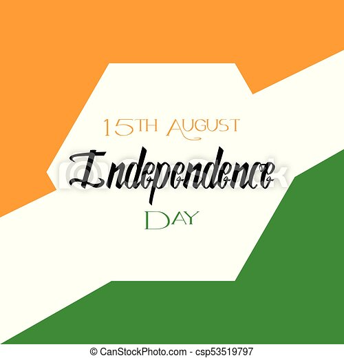 abstract india independence day bacground with some special eps rh canstockphoto com indian independence day border clipart independence day india clipart black and white