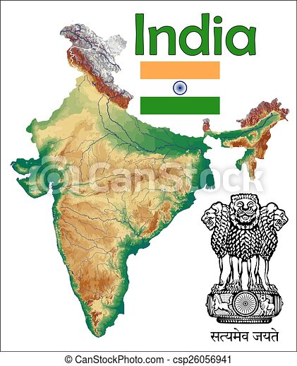 India Map Flag.India Map Flag Coat India Map Aerial View