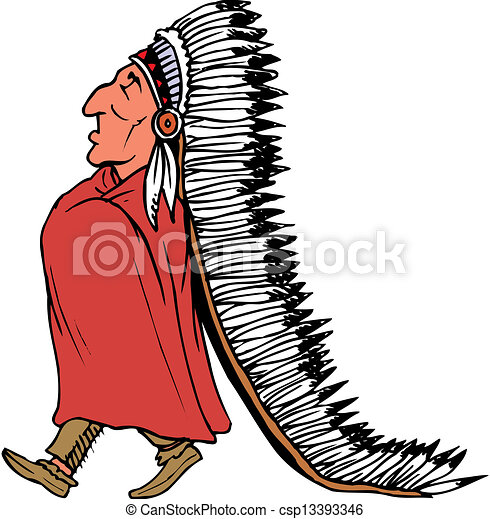 indian chief mascot rh canstockphoto com indian chief clipart american indian chief clipart