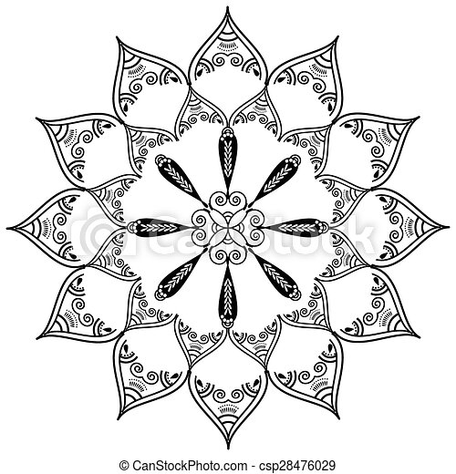 d08842eff Indian culture and henna pattern. Indian culture and henna tattoo ...