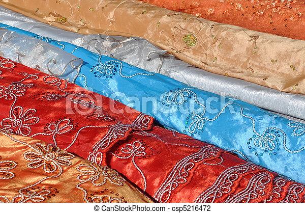 Indian Fabric - csp5216472