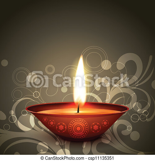 indian festival diwali - csp11135351