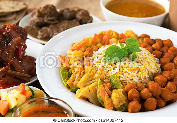 Indian food - csp14007412