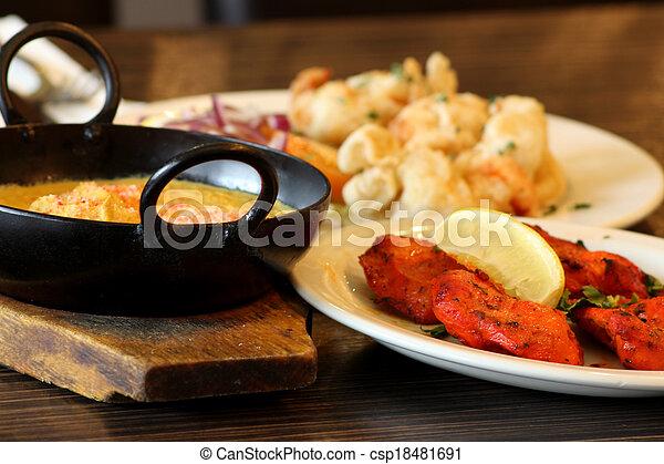 Indian Food - csp18481691