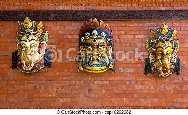 Indian god figures - csp10292682