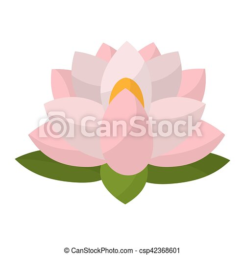 Indian lotus flower icon vector illustration graphic design indian lotus flower csp42368601 mightylinksfo