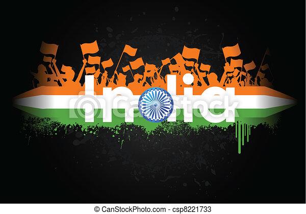 Indian Patriotism - csp8221733