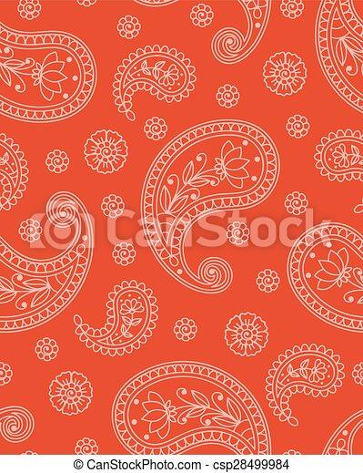 Indian pattern - csp28499984