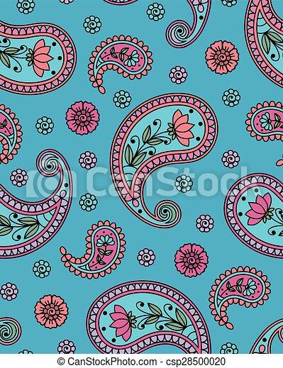 Indian pattern - csp28500020