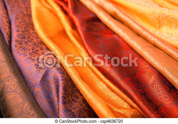 Indian scarves - csp4636720