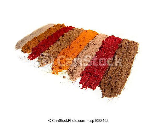 Indian spices - csp1082492