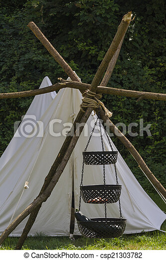 Indian Tent Stock Photo & Indian tent pictures - Search Photographs and Photo Clip Art ...