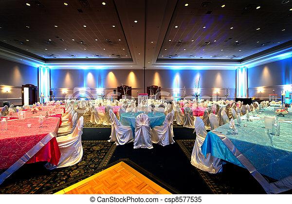 Indian Wedding Reception Image Of A Beautifully Set
