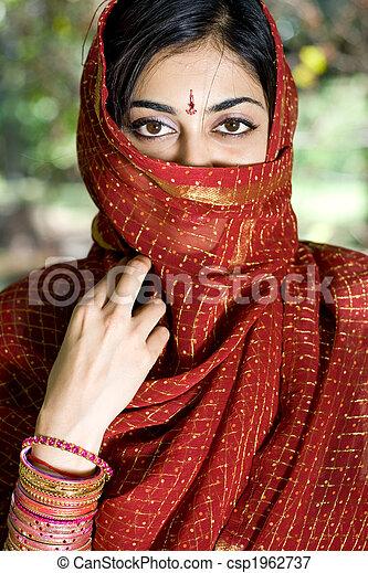 Indian woman - csp1962737