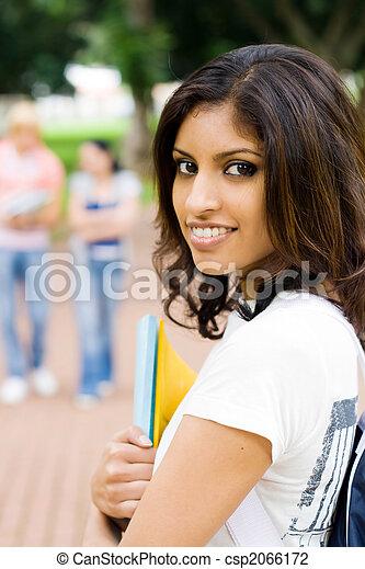 indian woman - csp2066172