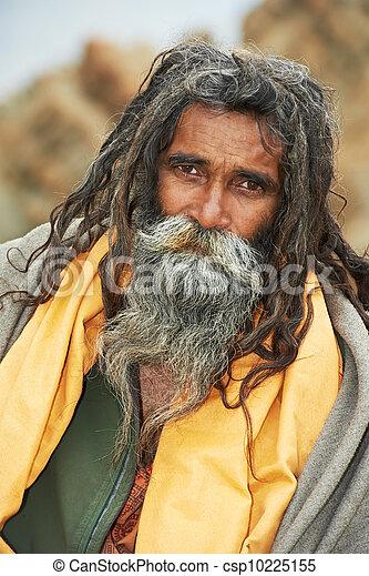 Canção de Luna - Juno Indianas-sadhu-monge-banco-de-imagens_csp10225155