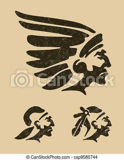 Indians head - csp9580744