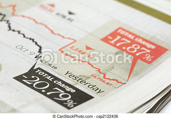 indices, diagramme, marché, stockage - csp2122436