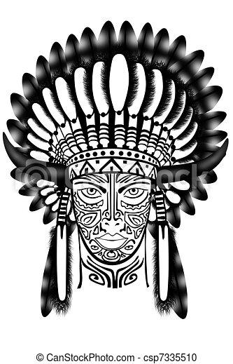 Indien Amérique Chef