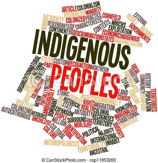 Indigenous peoples - csp11853260
