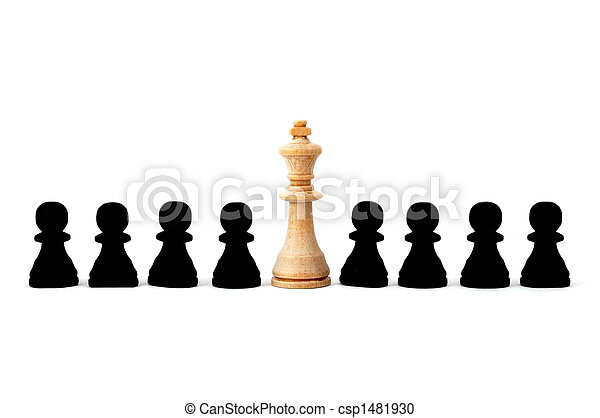 individual chess people - csp1481930