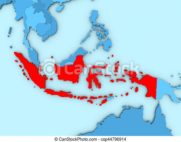 Indonesia on 3D map on brunei on a map, timor-leste on a map, lebanon on a map, australia on a map, sudan on a map, myanmar on a map, jakarta on a map, japan on a map, east timor on a map, singapore on a map, malawi on a map, brazil on a map, germany on a map, mozambique on a map, india on a map, pakistan on a map, peru on a map, vietnam on a map, bangladesh on a map, himalayas on a map,