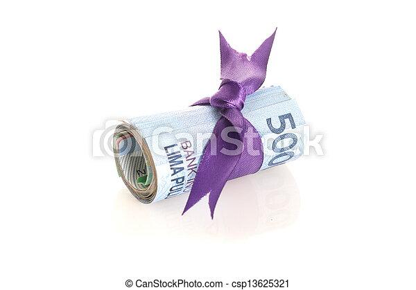 indonesiano, rupiah, soldi, - - csp13625321