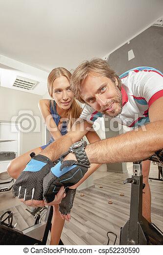 Indoor Activities Fitness Active People - csp52230590