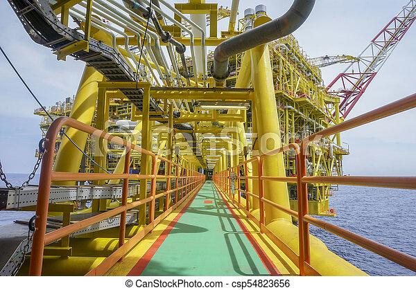 industria, aceite, gas - csp54823656