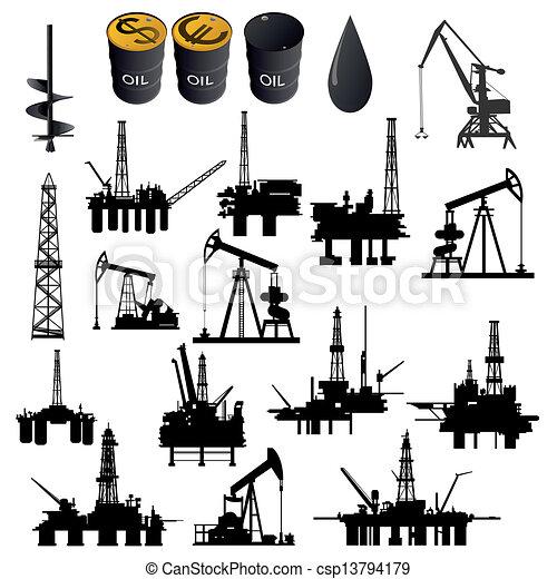 industria, olio - csp13794179