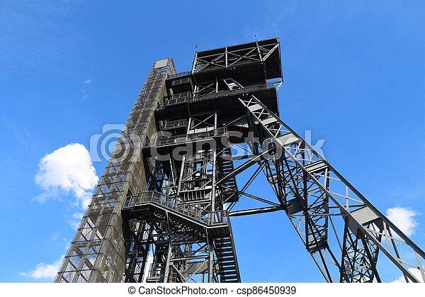 Industrial architecture Katowice - csp86450939