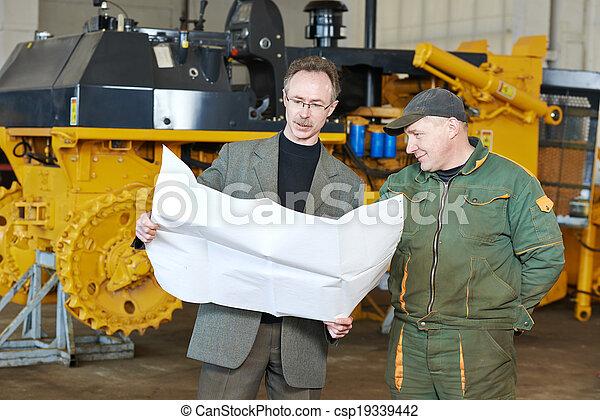 industrial, assembler, trabalhador - csp19339442