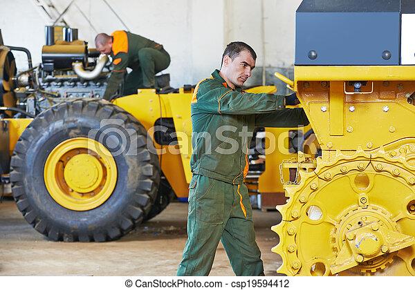 industrial, assembler, trabalhador - csp19594412