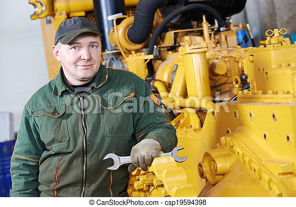 industrial, assembler, trabalhador - csp19594398