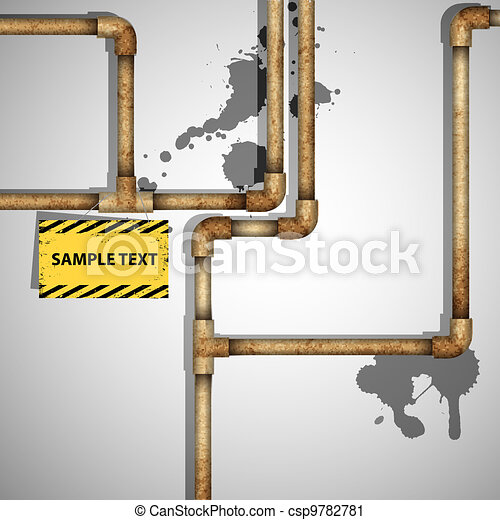 Industrial background  - csp9782781
