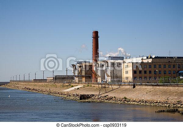 Industrial beach - csp0933119