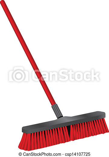 industrial brush for cleaning brush for cleaning of industrial rh canstockphoto com Coin Clip Art Broom Clip Art