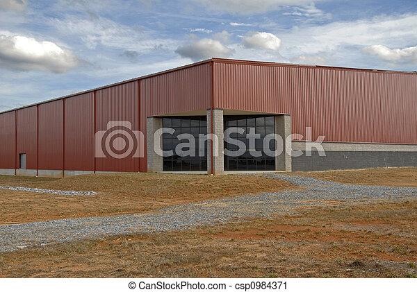 Industrial Building - csp0984371