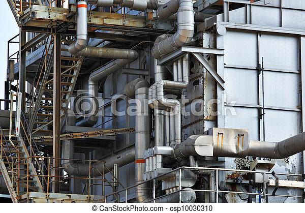 Industrial building, Steel pipe - csp10030310